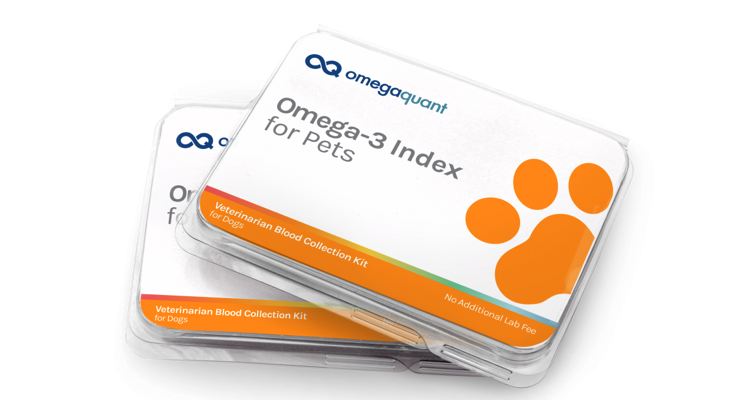 OmegaQuant Launches Omega-3 Index Test for Pets