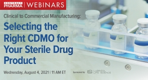 Clinical to Commercial Manufacturing: Selecting the Right CDMO for Your Sterile Drug Product