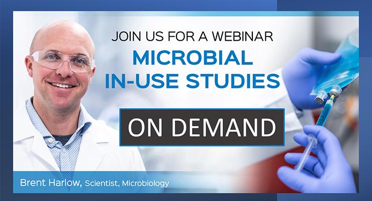 On-Demand Webinar: Microbial In-Use Studies