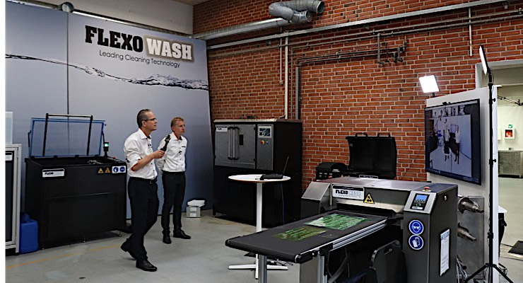 Flexo Wash Narrow Web Expo held for first time