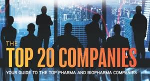 Top 20 Pharma and Biopharma Companies