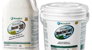 ICP's Benefect Products Certified as Only 100%-Biobased Disinfectant Technology by the USDA