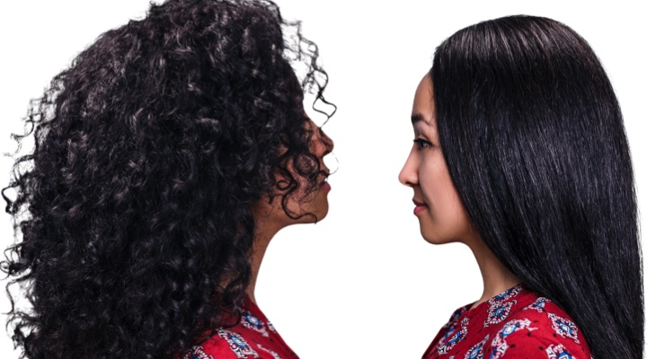 Nexxus Research on the Role of Protein in Very Curly vs. Very Straight Hair
