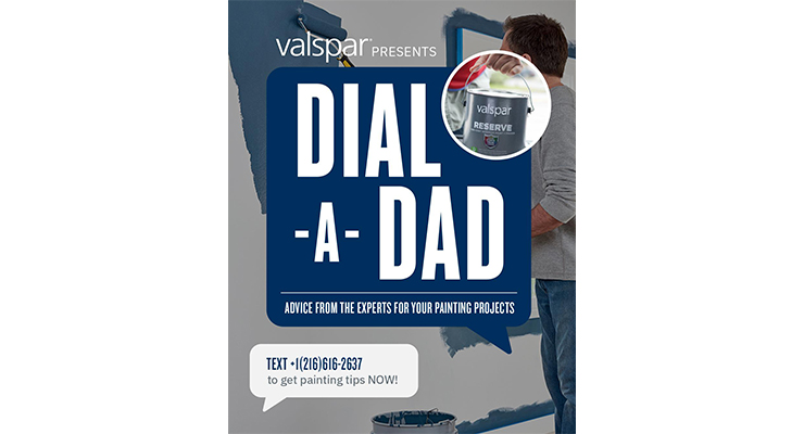Valspar's Dial-A-Dad Program Rang True with Consumers