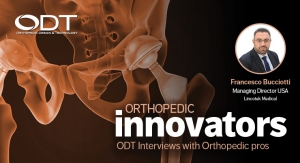 Key Factors for an Effective Supply Chain—An Orthopedic Innovators Q&A
