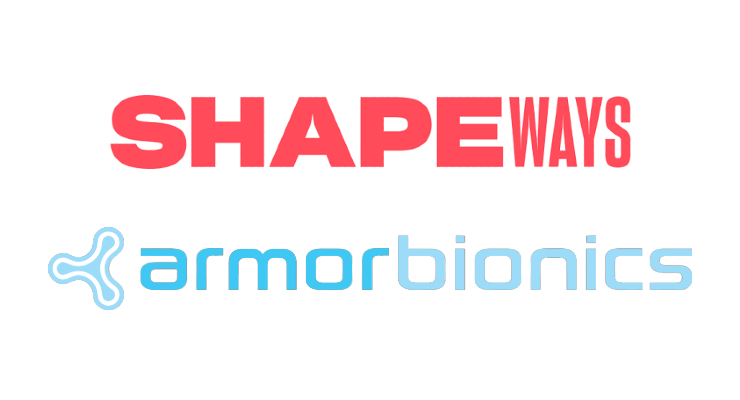 Shapeways Becomes the Exclusive 3D Printing Manufacturer for Armor Bionics