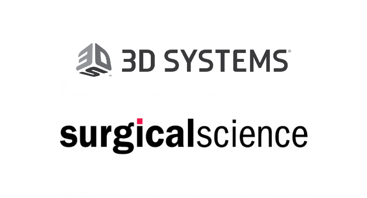 3D Systems Sells Medical Simulation Business to Surgical Science Sweden