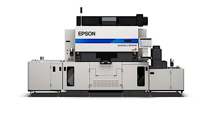 Epson enhances SurePress website
