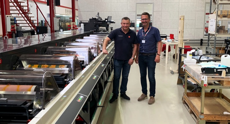 New Nilpeter press helps Primoreels recover from fire