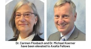 Dr. Carmen Flosbach, Dr. Michael Koerner Named Axalta Fellows