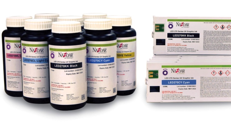 Nazdar announces 270 Series of UV-LED inks