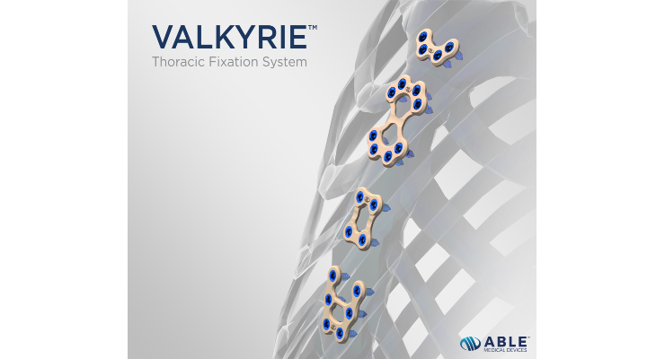 Able Medical Launches the Valkyrie Thoracic Fixation System