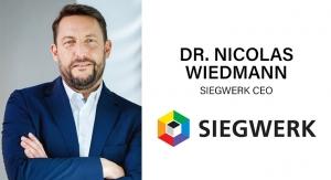 Ink World Q&A: Siegwerk CEO Dr. Nicolas Wiedmann