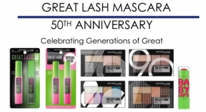 Maybelline's Great Lash Mascara Celebrates 50 Years with Limited Edition Beauty Products