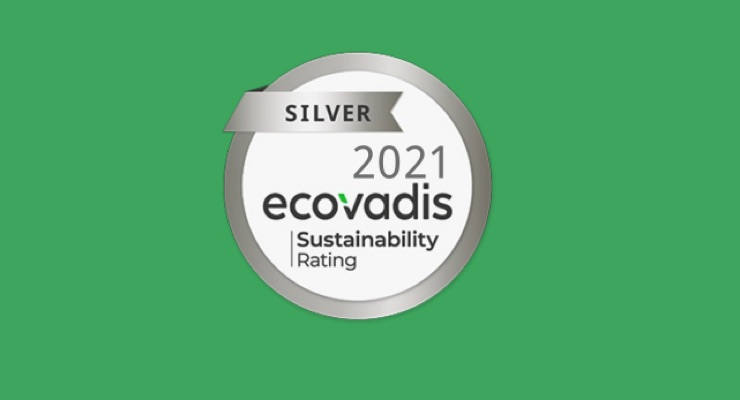 MCC Receives Silver Medal from EcoVadis for Sustainability Efforts