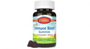 Carlson's New Kid's Immune Boost Gummies Feature Astaxanthin and Vitamin C