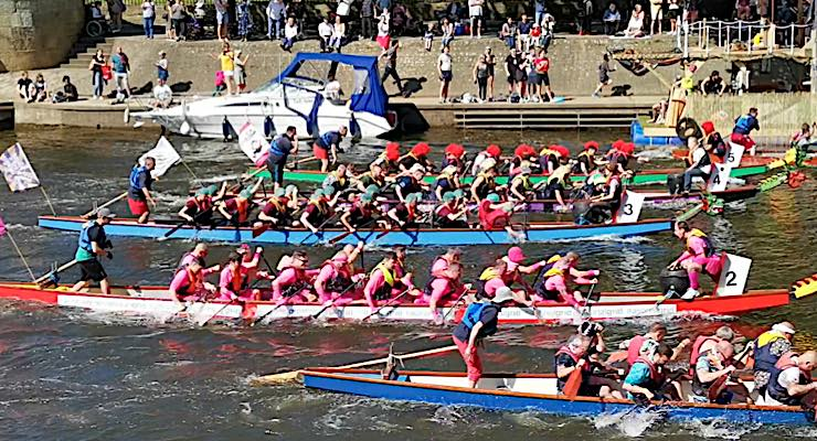 ABG continues supporting community with charitable Dragon Boat event