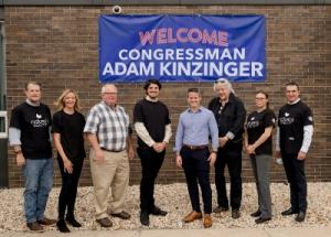 Garcoa Laboratories Receives Special Visit from Congressman Adam Kinzinger
