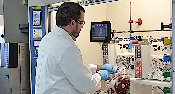 Sterling Pharma Solutions Creates Flow Chemistry CoE
