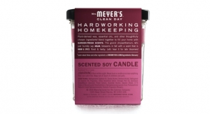 Popular Fall Scents Now in Large Soy Candles from Mrs. Meyer's Clean Day