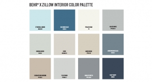 BEHR Paint X Zillow Release Color Palette That May Help Homeowners See More Dollar Signs