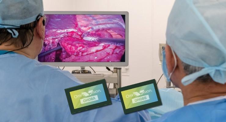OmniVision Debuts Industry's First 8 Megapixel Medical-Grade Image Sensors