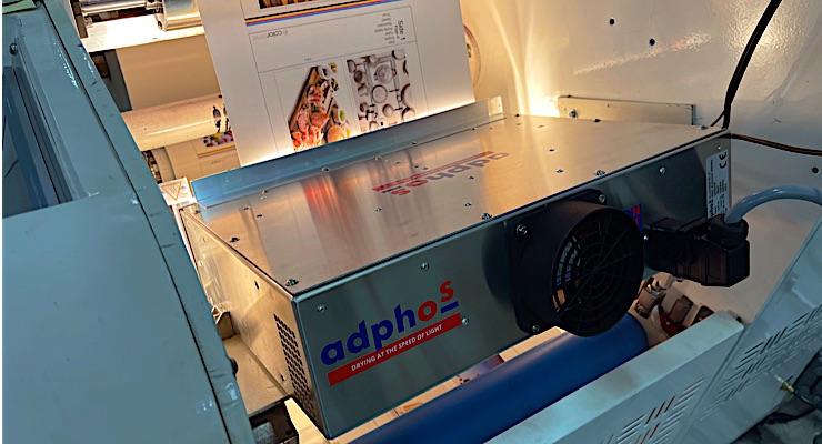 Colordyne and Adphos develop dryer for ChromaPlex LT print engine