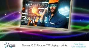 RDS Launches Tianma 13.3-inch Full HD TFT