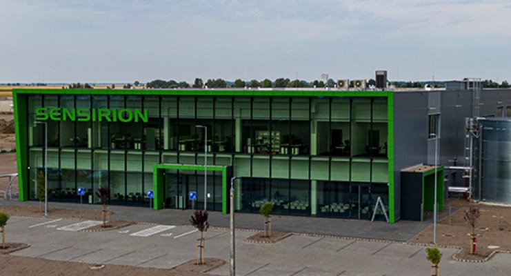 Sensirion Opens New Sensor Production Site in Hungary