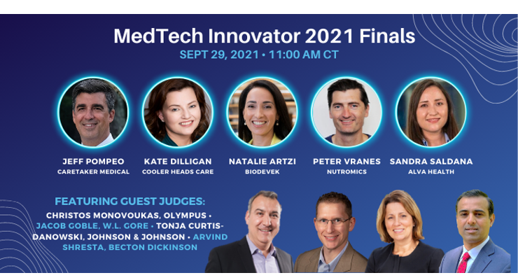 MedTech Innovator Names the Finalists for the Title of MedTech Innovator 2021