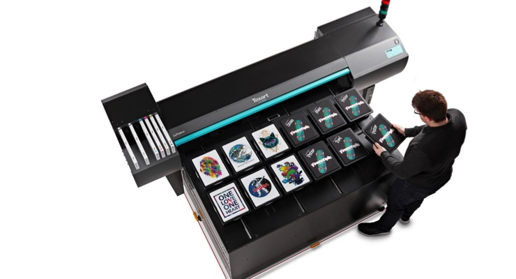 Roland DGA Introduces New Texart XT-640S Direct-to-Garment Printer