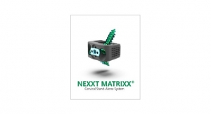Nexxt Spine Launches the NEXXT MATRIXX Stand-Alone Cervical System