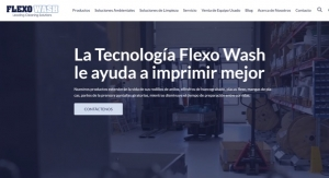 Flexo Wash website now available in Spanish