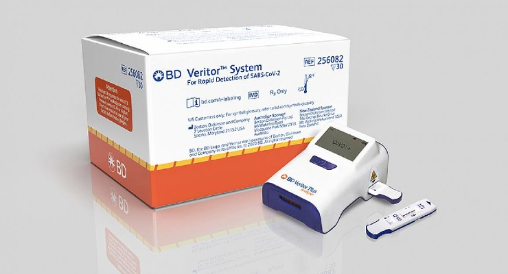 NIH Grants $77.7M for 12 New Rapid COVID Tests from BD, Quidel, and More