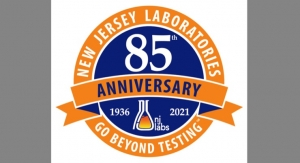 NJ Labs Marks 85 Years in Testing Industry