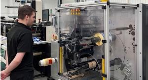 Aztec Label boosts productivity with ABG turret rewinder