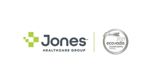 Jones Healthcare Group Earns Silver-Medal Ranking from EcoVadis