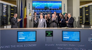 Hybrid Software Group celebrates name change at Euronext Stock Exchange