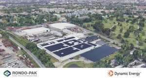 Rondo-Pak Invests Over $4 Million in Solar Energy Project in NJ