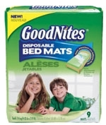 K-C launches GoodNites pads
