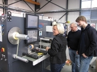 ABG installs third flytec at German label printer