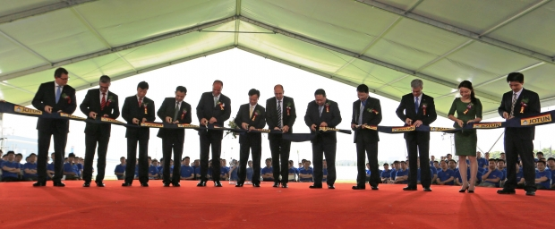 Jotun opens a state-of-the-art powder coatings factory in China