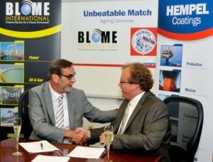 Hempel acquires Blome International