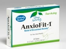 AnxioFit-1 Demonstrates Anti-Anxiety Effects