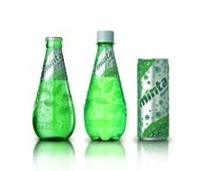 Natural Mint Flavored Soda
