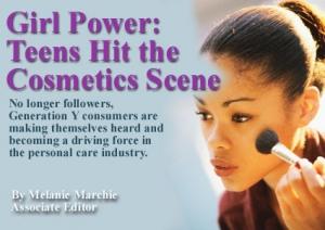 Girl Power: Teens Hit the Cosmetics Scene