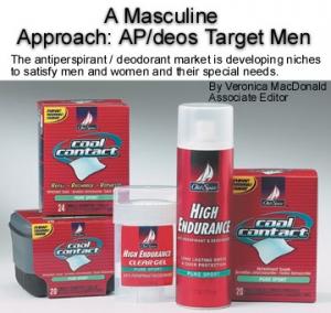 A Masculine Approach: AP/Deos Target Men