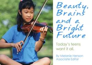 Beauty, Brains and Bright Future