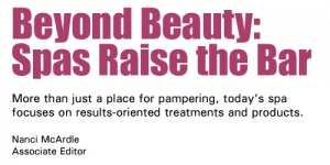Beyond Beauty: Spas Raise the Bar