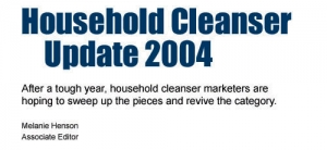 Household Cleanser Update 2004